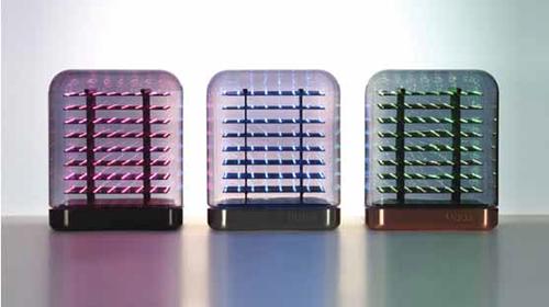 部屋やお店が特別な空間に!時間や気分に合わせて 演出を変えられる3Dスマートライト「Tittle Light(ティトル・