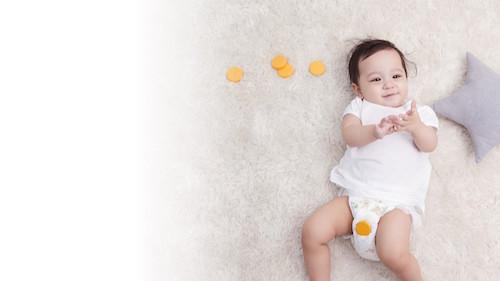 赤ちゃんのうんち、おしっこを教えてくれるスマートベビーケア「MONIT(モニット)」