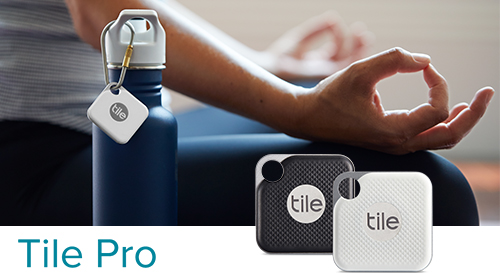 探し物を音で見つける Tile Pro(電池交換版)/ スマートトラッカー
