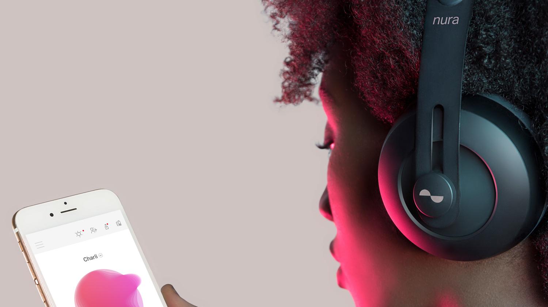 アプリで人それぞれの聴力に最適化できるカスタムヘッドホン 「nuraphone(ニューラフォン)」