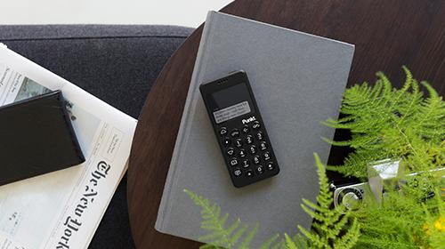 本質的な機能にフォーカスし、デジタルデトックスを可能にする携帯電話Punkt. (プンクト) MP02 4G Mobile Phone