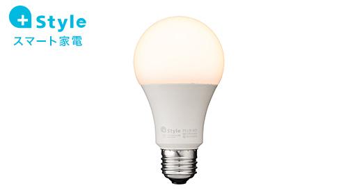 【+Style ORIGINAL】スマートLED電球 (調光) /E26 (安心の2年保証)