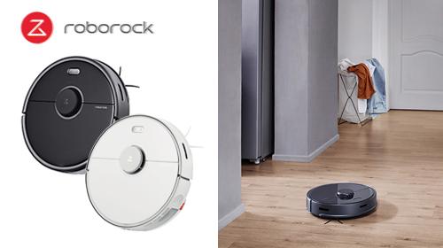 Roborock S5 Max ロボット掃除機 水拭き対応 スマホ バーチャルウォール アプリ水量調整 強力吸引 自動充電 落下防止 AIスピーカー対応