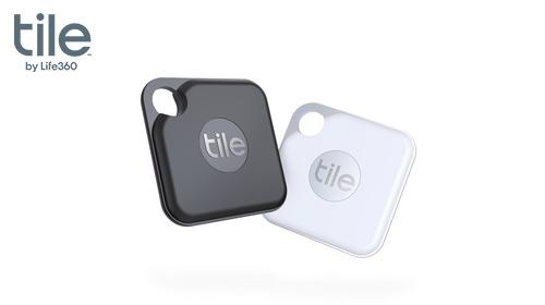 探し物を音で見つける Tile Pro 2020(電池交換版)2個パック / スマートトラッカー